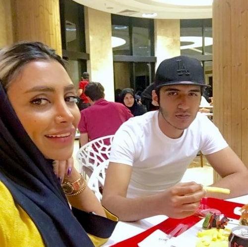 الهام عرب در ماه عسل