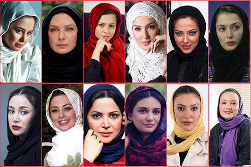 سلبریتی های زن معروف ایران