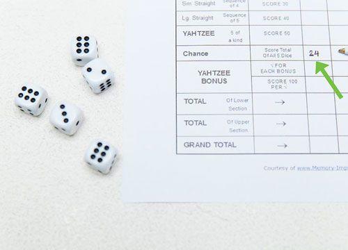 بازی Yahtzee محبوب ترین بازی نورد تاس در جهان