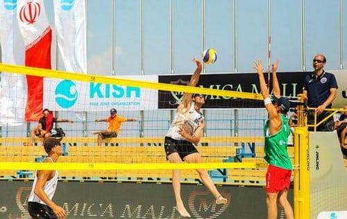 مسابقات والیبال ساحلی